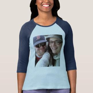 Custom Womens V-Neck 3/4 Sleeve Shirt