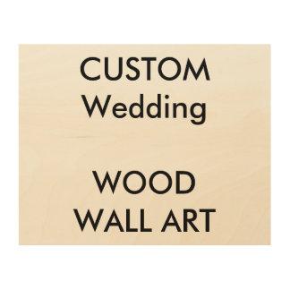 "Custom Wood Wall Art 10"" x 8"""