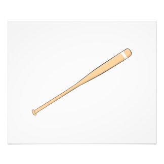 Custom Wooden Baseball Softball Bat Invitations Photo Print