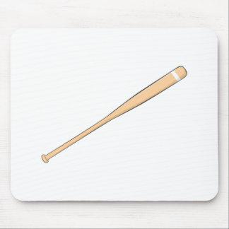 Custom Wooden Baseball Softball Bat Playing Cards Mouse Pad