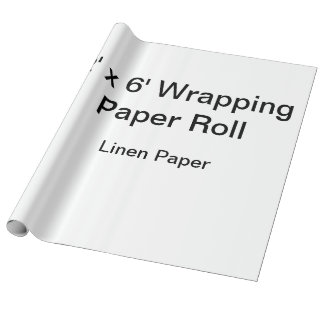 Custom Wrapping Paper (2x6 Roll, Linen Paper)
