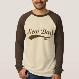 Custom Year New Dad Jersey T-Shirt