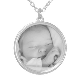 Custom your baby photo personalized necklace