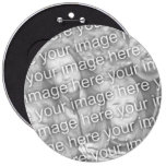 Custom Your Photo 6 Inch Button Template