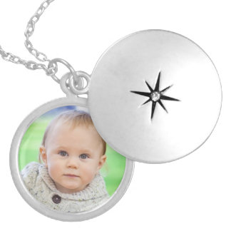 Custom your photo personalized cute baby locket
