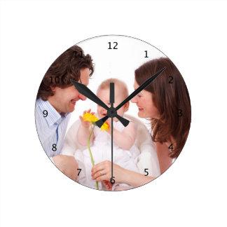Custom your photo personalized wall clock, gift wall clocks