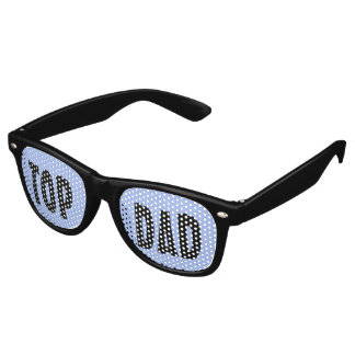 Custom your text, image & background color retro sunglasses