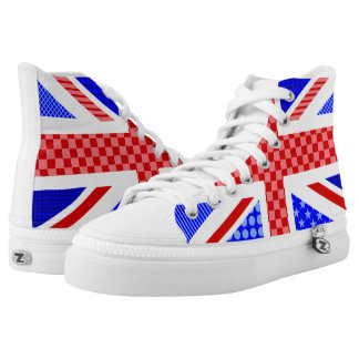 Custom Zipz High Top Shoes Printed Shoes