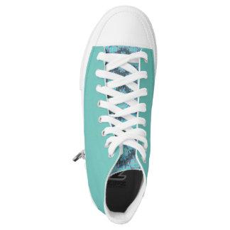 Custom Zipz High Top Shoes - (Storm 2)