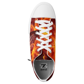 Custom Zipz Low Top Shoes, US Men 7.5 / Women 9.5 Printed Shoes