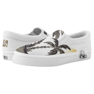 Custom Zipz Slip On Shoes, US Men 4 / US Women 6