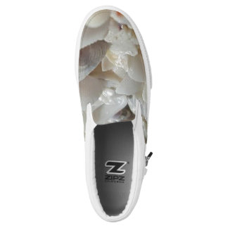 Custom Zipz Slip On Shoes, US Men 4 / US Women 6 Printed Shoes