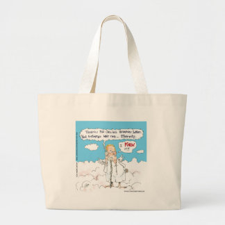 Customer Service In Heaven Funny Cards Mugs Gifts Tote Bag