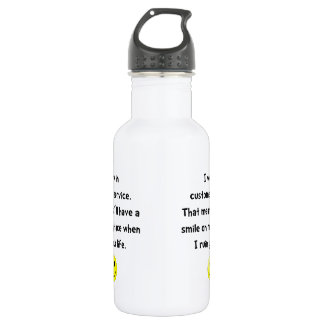 Customer Service Joke 532 Ml Water Bottle
