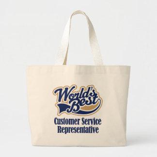 Customer Service Jumbo Tote Bag