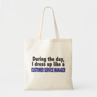 Customer Service Manager During The Day Canvas Bag