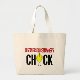 Customer Service Manager's  Chick Canvas Bags