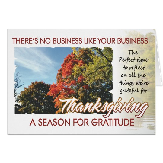 Customer Thanksgiving card 1