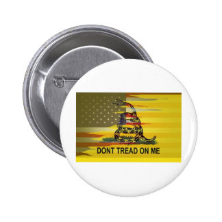CustomGadsden Pinback Buttons