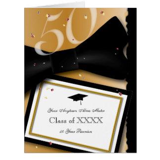 Customisable 50 Year Class Reunion Invitation