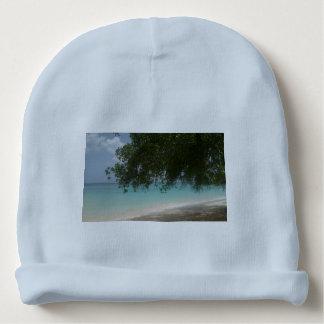 Customisable Barbados Beach Baby Beanie