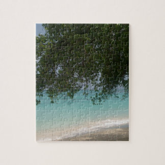 Customisable Barbados Beach Jigsaw Puzzle