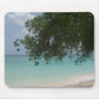 Customisable Barbados Beach Mouse Pad