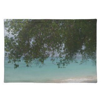 Customisable Barbados Beach Placemat