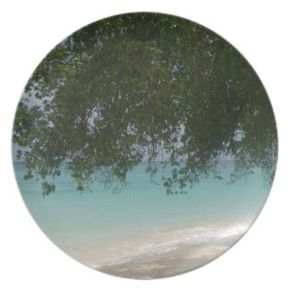 Customisable Barbados Beach Plate