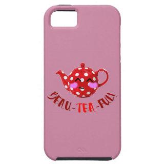 Customisable 'beau-tea-ful' iPhone 5 cover