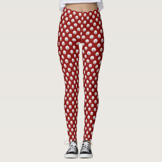 Customisable Bichon Frise Polka Dot Leggins Leggings