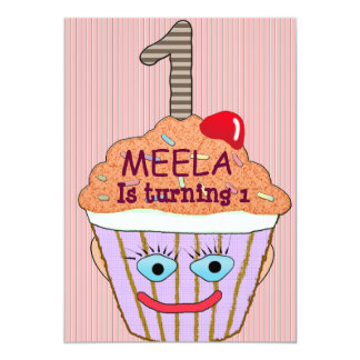Customisable Birthday 13 Cm X 18 Cm Invitation Card