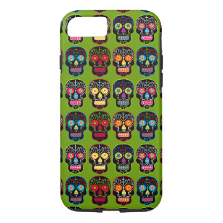 Customisable Black Sugar Skulls iPhone 8/7 Case