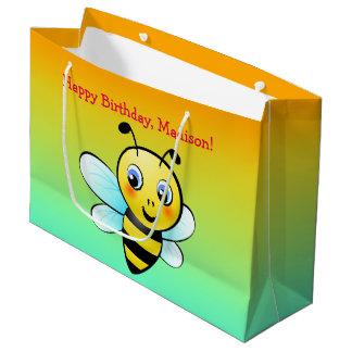 Customisable Bumblebee Large Gift Bag
