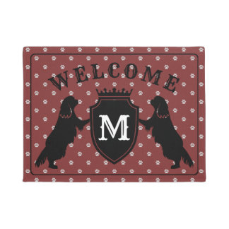 Customisable Cavalier King Charles Spaniel Doormat