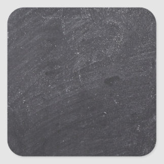 Customisable Chalkboard Background Square Sticker