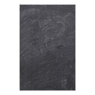 Customisable Chalkboard Background Stationery