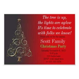 Customisable Christmas Party Invitation