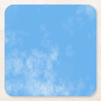 Customisable Clouds Coaster
