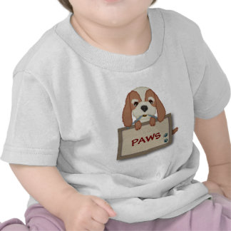 Customisable Cute Puppy Dog with Signboard Shirts