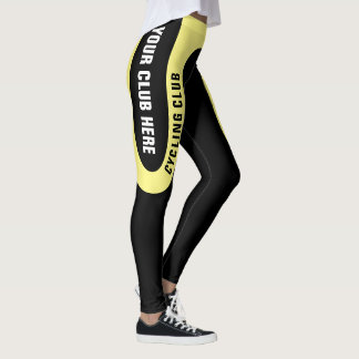 Customisable Cycling Club Leggings Version 2