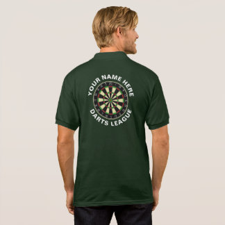 Customisable Darts League Polo/T-Shirt Polo Shirt