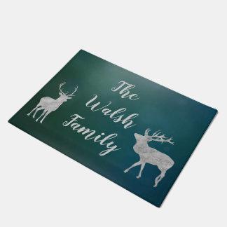 Customisable Deer Welcome Mat