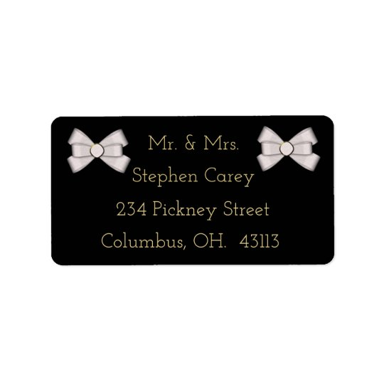 Customisable Elegant ADDRESS LABELS