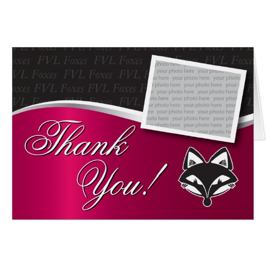 Customisable FVLHS Graduation Thank You Card