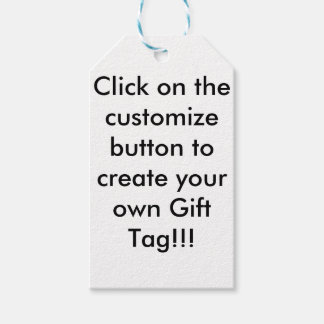 Customisable Gift Tag