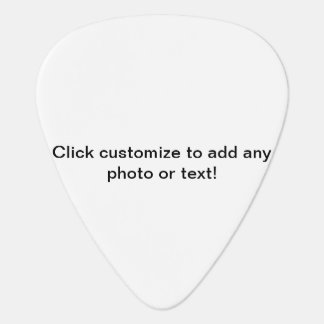 Customisable Guitar Pick