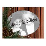 Customisable Holiday Photo Postcards