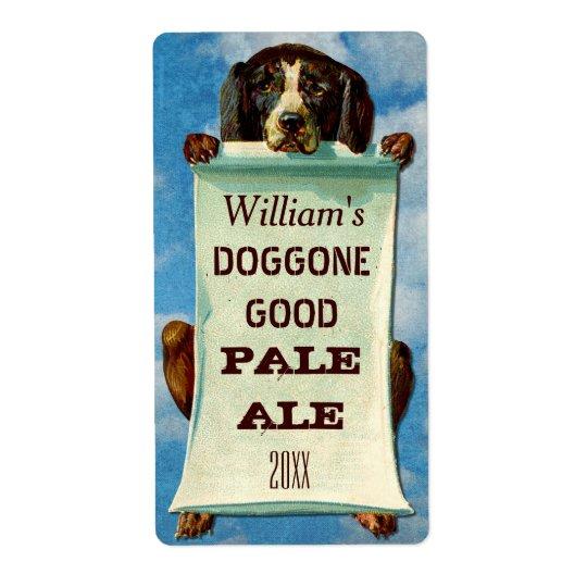 Customisable Home Beer Brewer: Vintage Dog