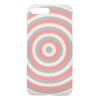Customisable I Phone 7 case Concentric Circle
